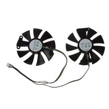 New 85mm GA91S2H DC 12V 0.35A 4Pin Cooler Fan Replacement For Zotac GTX 1060 GTX950 GTX 1050Ti Graphics Card Cooling Fan(China)