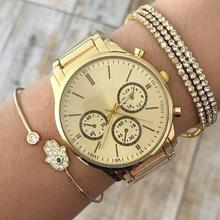 4Pcs/Set New Arrivals Fashion Simple Gold Color Arrow Knotted Charms Cuff Bracelet Bangles For Women Party Jewelry Female