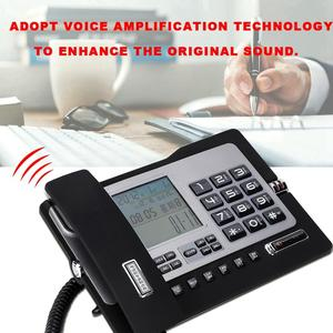 Image 3 - G026 prosty telefon stacjonarny stacjonarny telefon stacjonarny do domowego biura na biurko