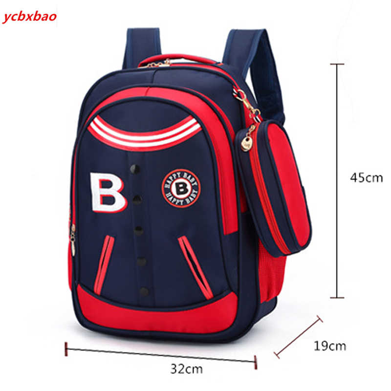 Ortopédico mochila escola primária sacos para meninos meninas crianças mochilas de viagem à prova dwaterproof água mochila infantil