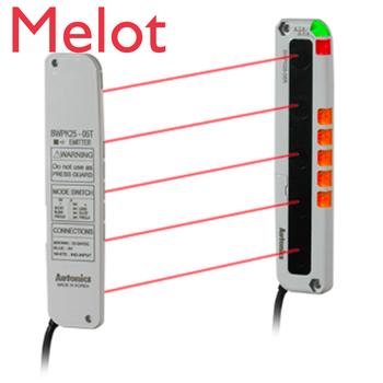 цена на Autonics BWPK25-05 NPN Through-beam Infrared Area Sensor