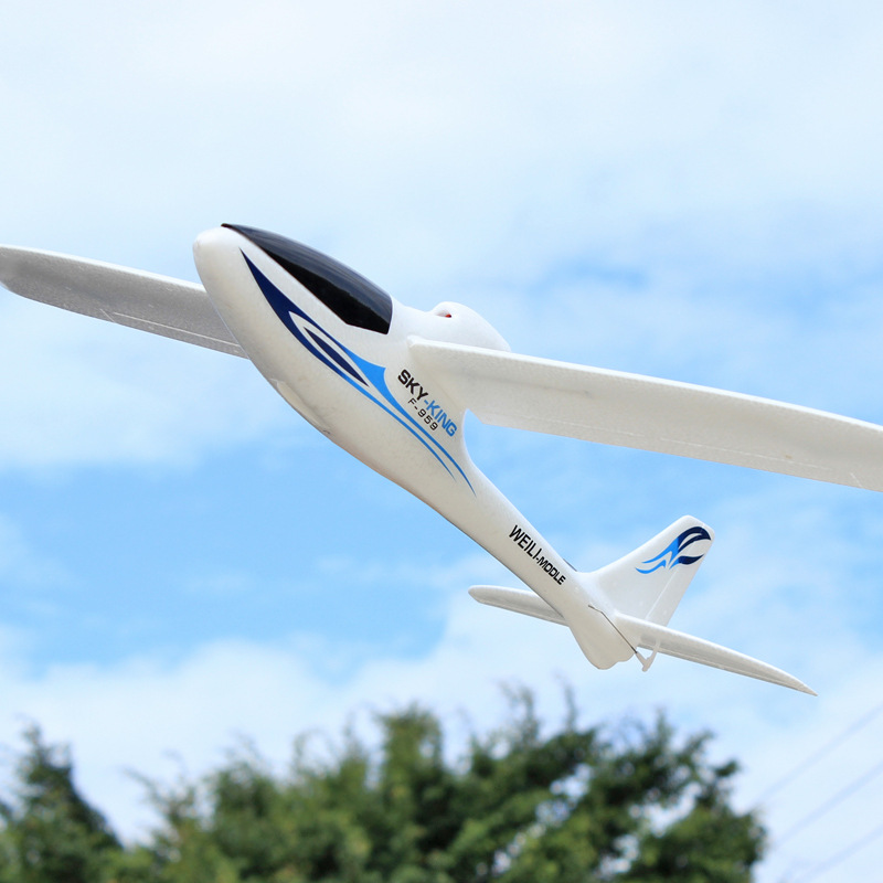 Weili F959 Remote Control Gliding Machine Three-Channel Push-Back Gliding Airplane Remote Control Model Plane Gliding Machine
