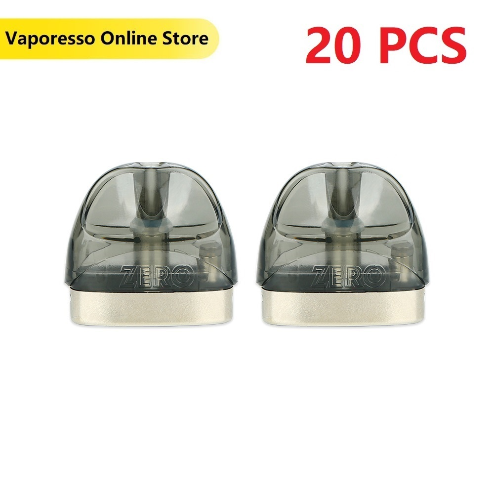 Original Vaporesso Renova Zero Pod Cartridge 2ml Capacity And 1.0ohm Coil Head E-cig Vape Tank For Vaporesso Renova Zero Pod Kit