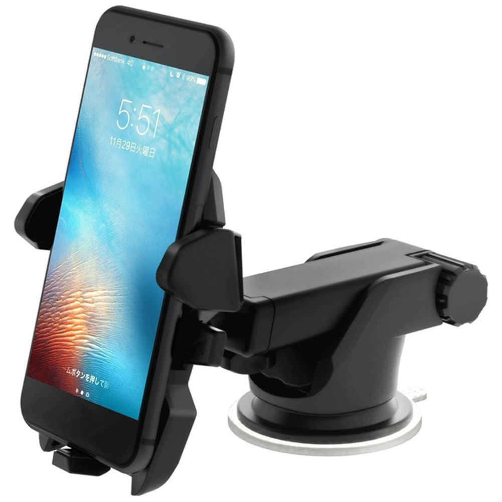 High Quality Car Phone Holder 360 Degrees Universal Smartphone Car Mount Holder Adjustable Phone Mounting Suction Cup Holder 4