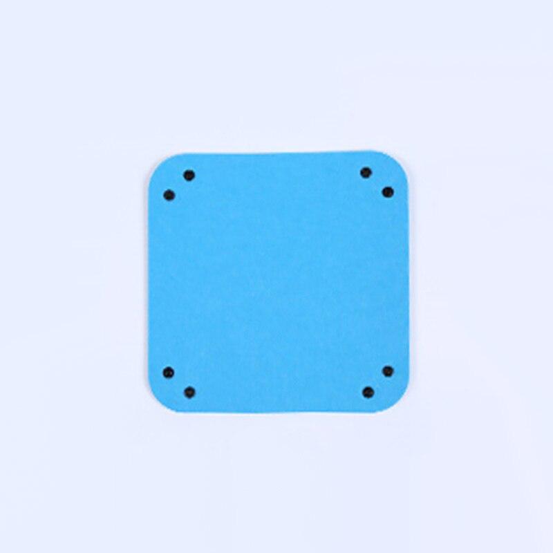 Складная коробка для хранения из искусственной кожи, квадратный поднос для настольной игры в кости, кошелек для ключей, коробка для монет, поднос, настольная коробка для хранения, лотки, Декор - Цвет: B-3