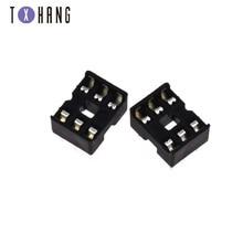 10PCS DIP IC Socket Adaptor PCB Solder Type DIP Socket 6 8 14 16 20 24 28 32 40P for arduino PCB Diy Kit sg6105dz dip 20