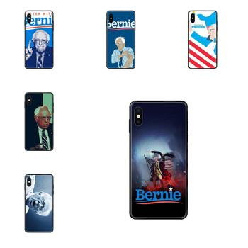 Soft TPU Black Cell Bags Bernie Sanders For iPhone 11 12 Pro Max Plus Pro X XS Max XR 8 7 6S SE 5 5C 5S SE 2020 image