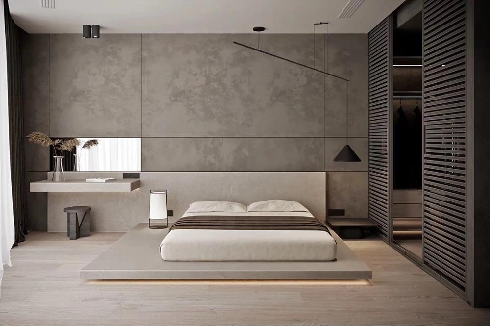2020 Modern Bedroom Customize Hotel Bed