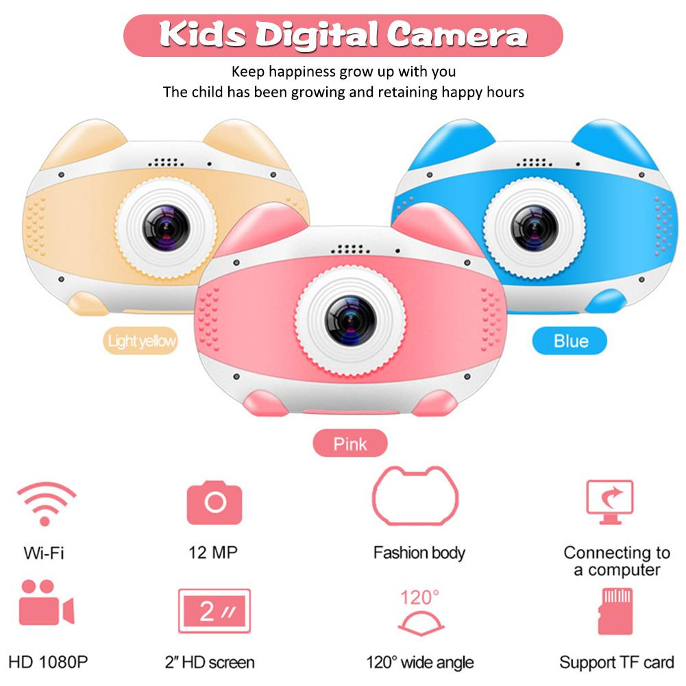 H65781486c7694000861f56765c5600ed4 2019 Newest Mini WiFi Camera Children Educational Toys For Children Birthday Gifts Digital Camera 1080P Projection Video Camera