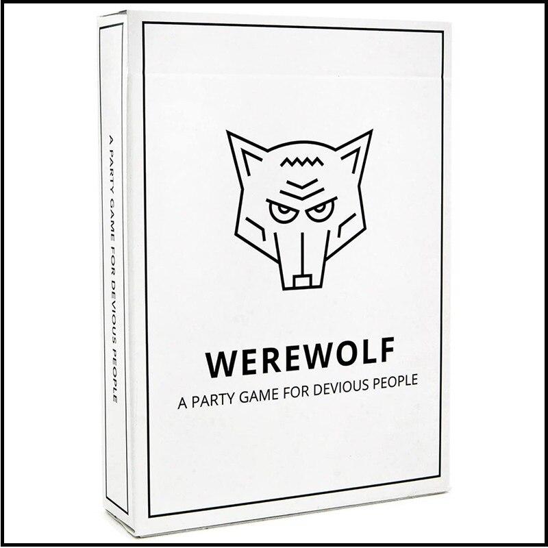 2020 NEW Werewolf Card Game Board Game English Version