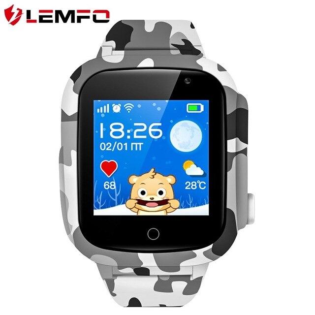 Детский смарт-часы LEMFO LEC2 с поддержкой русского языка. Официальная гарантия 1 год, Доставка от 2 дней.