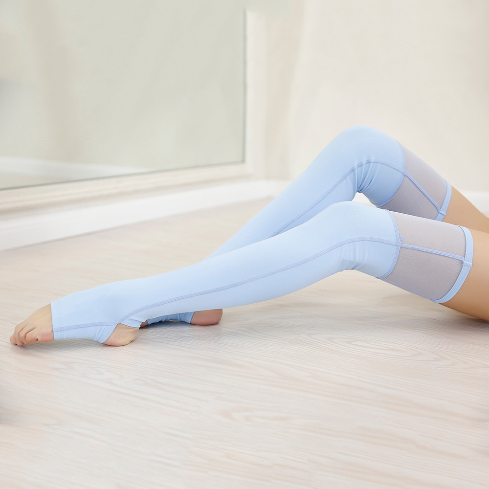 2019 New Style Yoga Suit Sport Ware Dance Pantyhose Over-the-Knee Hose Legguard Fitness Body-hugging Sexy Pantyhose