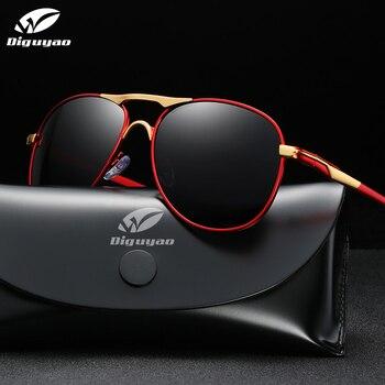 DIGUYAO Classic Men Polarized Sunglasses Brand Design Fishing Driving glasses For Male retro UV400 Sunglass Shades Oculos de sol