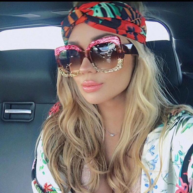Luxury Brand Square sunglasses for women Retro Vintage Sun Glasses For women's Sunglasses Female 2019 gafas lentes de sol mujer (36)