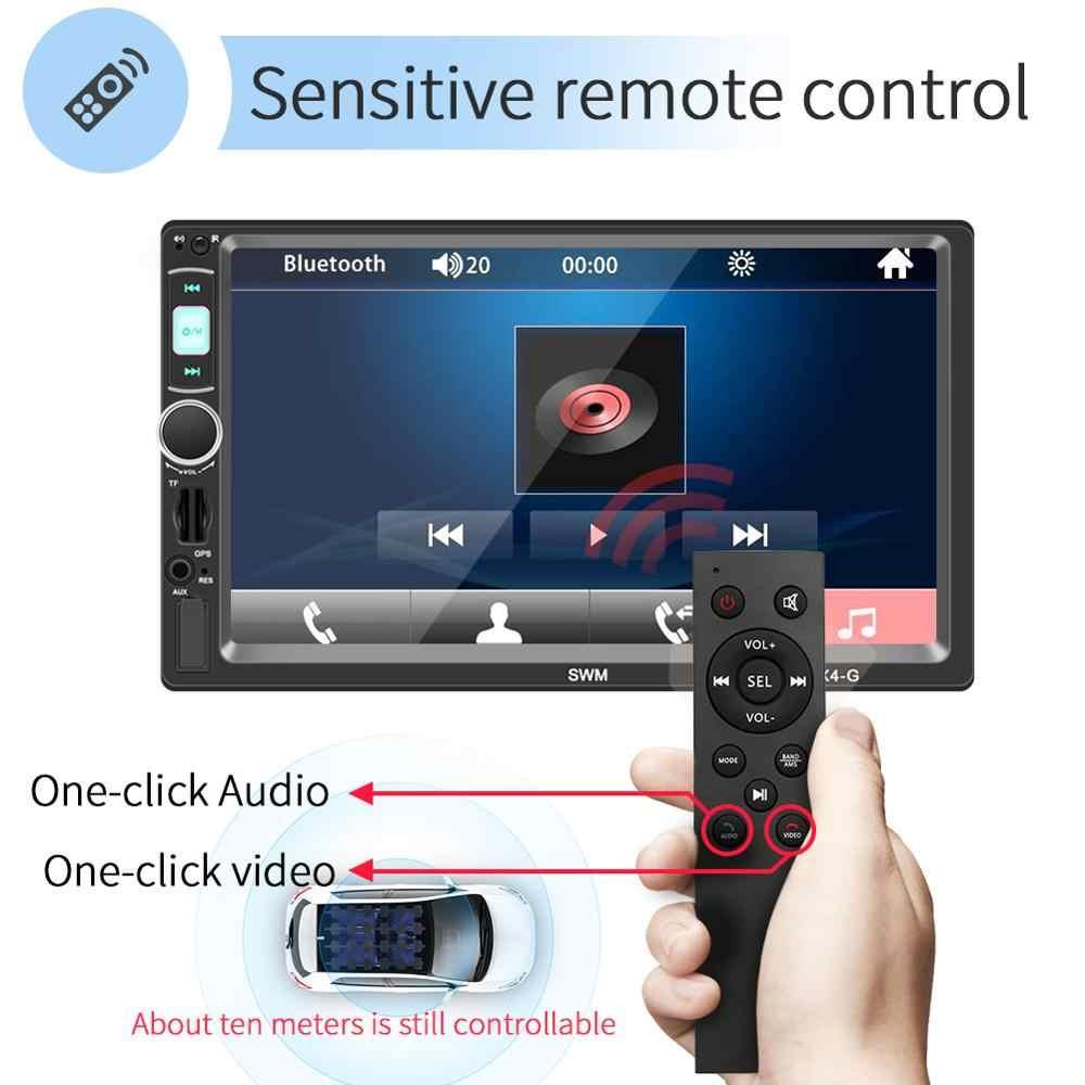 車の Gps ナビゲーション FM ラジオプレーヤー 2 Din Bluetooth ステレオ車マルチメディア MP5 ビデオプレーヤー GPS Autoradio 逆転カメラ