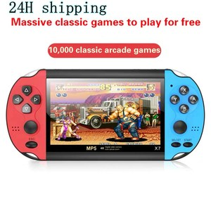 Handheld Game Console Built-in 10000 Games Video Game Consoles 4.3-inch Classic Dual-Shake Игровая Приставка