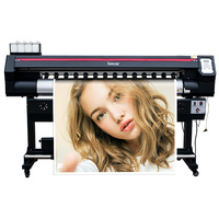 Large format posters 180cm outdoor with dx7 single head printing machine for vinyl banners plotter