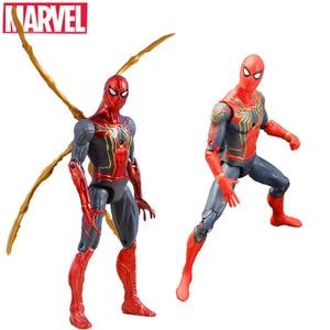 16CM Marvel Avengers 3 Super Hero Spider-Man Action Figure Toy Doll Joint Movable Spiderman Toys Children Boys Birthday Gift