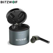 BlitzWolf BW-FYE8 TWS APTX Prawdziwy bezprzewodowy zestaw słuchawkowy bluetooth 5.0 Gamer Słuchawki sportowe Podwójny sterownik dynamiczny Słuchawki douszne Hifi IPX5 Wodoodporny długi uchwyt Mężczyźni Kobiety Muzyka