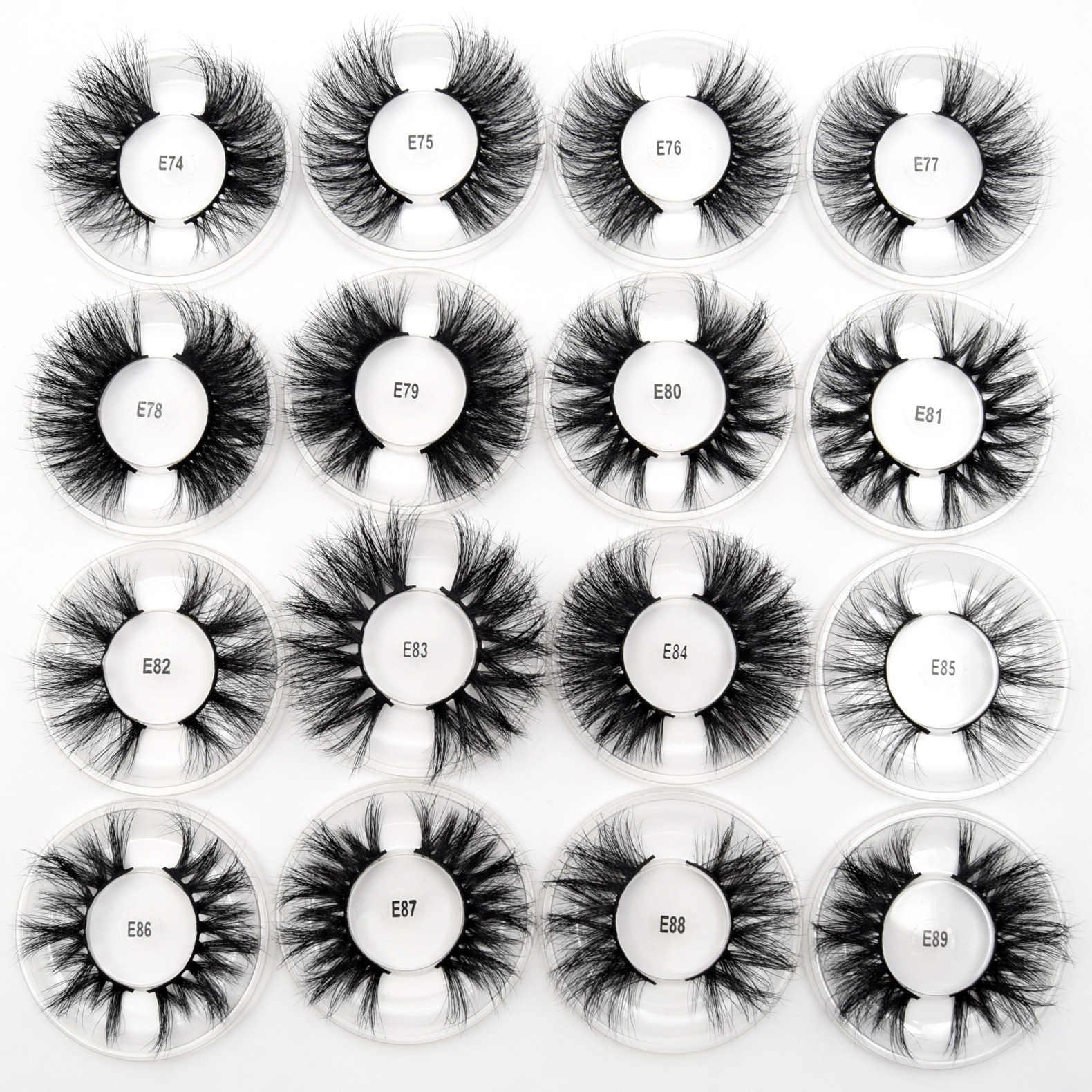 Visofree 50 пар/лот норковые ресницы 3D норковые ресницы без лишних следов 25 мм ресницы многоразовые драматические ресницы накладные ресницы для макияжа