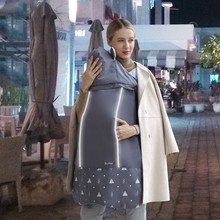 Nova marca engrossar envoltório quente sling portador do bebê ao ar livre à prova de vento mochila do bebê cobertor portador capa de inverno funcional quente