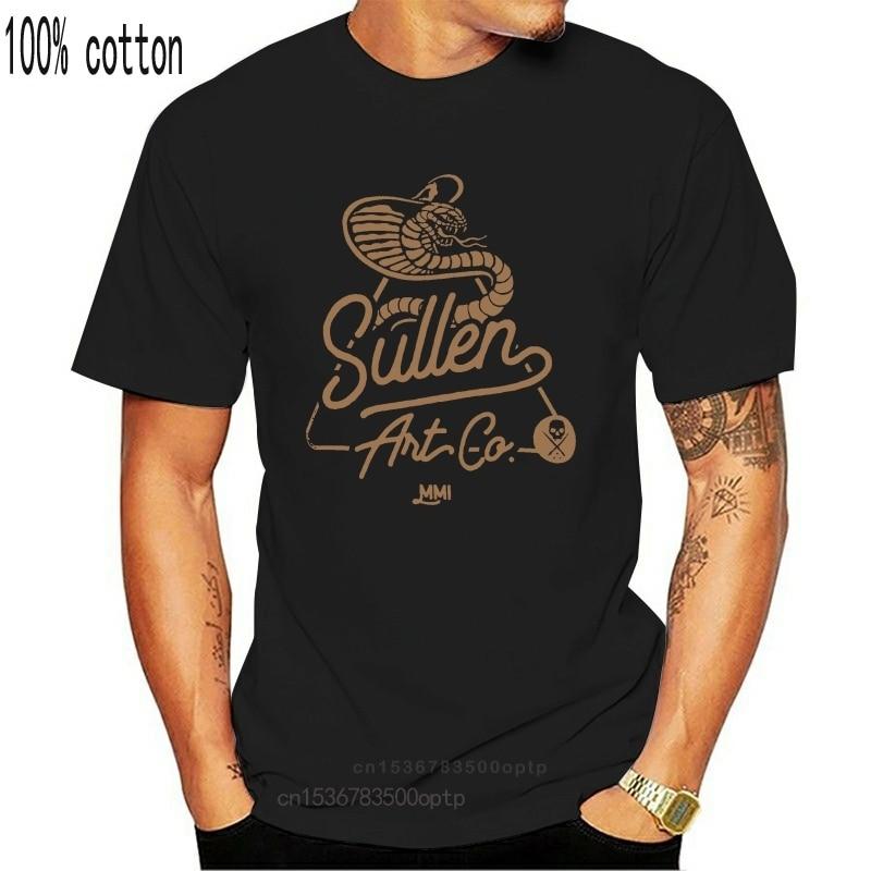 Maglietta da uomo Sullen Krest nera