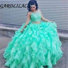 Gardlilac 2020 милое бальное платье quinceanera платья из бисера