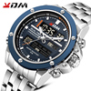 Relogio Masculino Men Watch KDM Top Brand Luxury Fashion Military Quartz Mens Watches Waterproof Sports Men's Wrist Watches Gift