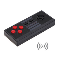 1PCS 2.4GHz Mini Wireless Controller Gamepad for NES Classic Edition Gaming System in Retail Box 205pcs lot 5 9 feet 1 8meter cable for nes classic edition controller extensive cable mini nes extend link extension cable cord