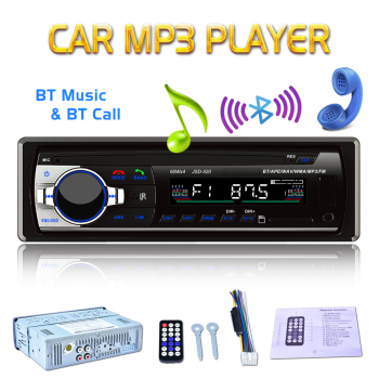 Bluetooth Car Radio Car Stereo In-dash 1 Din FM Aux Input Support Mp3/MP4 USB MMC WMA AUX IN TF Car JSD520 12V Radio Player universal car music player 12v bluetooth car radio mp3 player vehicle stereo audio support fm usb sd aux with remote control