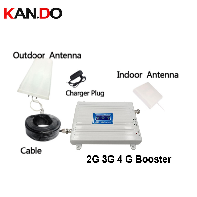 GSM 2G WCDMA 3G LTE 4G 900/2100/2600MHZ Cell Phone Signal Booster 2G 3G 4G LTE 2600 Repeater Phone Booster 2g 3g 4g Repeater