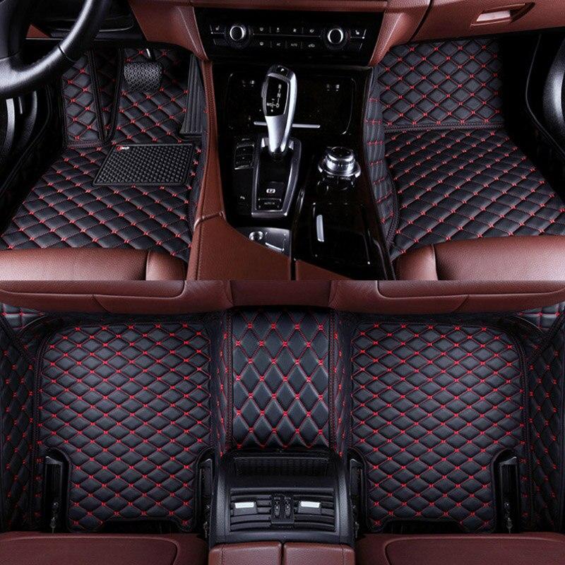 For Honda HRV 2016-2019 Car Floor Mats Carpets All Waterproof pads Auto Mats