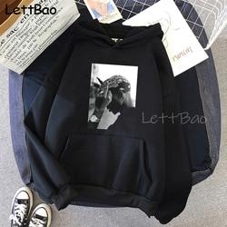 Tupac 2pac hoodies shakur hip hop sweatshirts makaveli rapper snoop dogg biggie smalls hip hop rap música popular hoodie masculino 2020