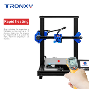 Image 3 - TRONXY 3D Printer XY 2 PRO 3D Printer Large Size I3 255*255 Hotbed V slot Resume Power Failure Printing FDM printing 3D Drucker