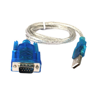 CARPRIE USB do RS232 portu szeregowego 9 Pin DB9 kabel szeregowy Port szeregowy konwerter do adaptera z Adapter żeński obsługuje Windows 1M