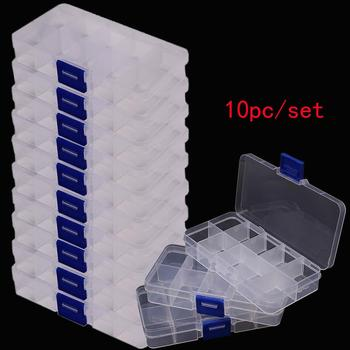 Parts Box Tool Box Screws IC Jewelry Beads Fishing Storage Box Component Box Organizer Container