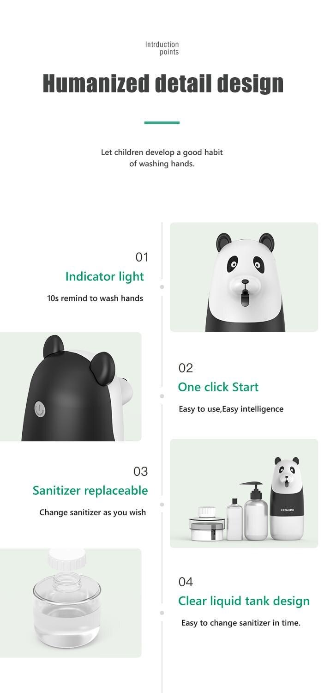 KENAIPU Automatic Foam Soap Dispenser,Cartoon Induction Liquid Hand Washing Machine,USB Charge,Intelligent foam hand washing 5