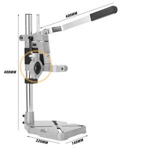 Image 4 - Perceuse de banc, support de presse, cadre de Base pour perceuses électriques, outil de bricolage, support de presse à main, accessoires doutils électriques