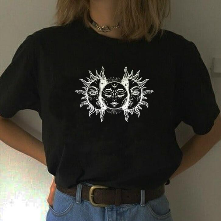 Kuakuayu HJN Cool Fashion Black Japanese Style <font><b>Unisex</b></font> Uzumaki Head Like A Hole Anime T-<font><b>Shirt</b></font> Hipster Grunge Horror <font><b>Manga</b></font> <font><b>Tee</b></font> image
