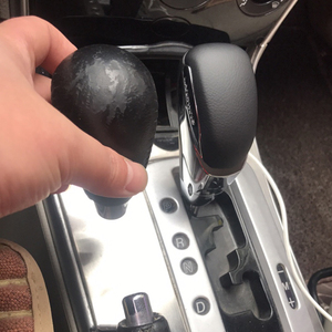 Automatic Car Gearbox Handles Gear Shift Knob Stick Lever Head for Mazda 3 5 6 8 for MX-5 for CX-5 CX-7 CX-9 Genuine Leather(China)