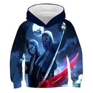 Cool Undertale Sans 3D Kids Hoodies for Girls sonic Children's Sweatshirt for Boys Girls Sweat Shirt Child Boys Hoodies Clothes