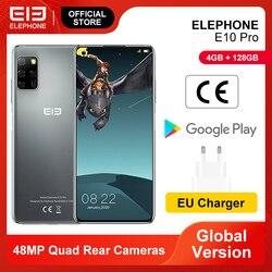 Смартфон E10 Pro, 4 + 128 ГБ, 4 камеры 48 МП, 6,55 дюйма, 4000 мА ч, Android 10,0, NFC