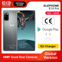 E10 Pro Mobile Phones 4GB 128GB 48MP Quad Rear Cameras Octa