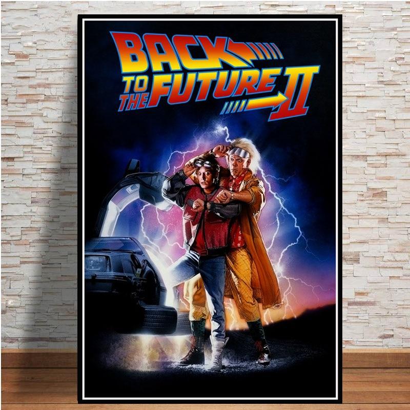 2C233 Back To The Future Movie Deco Print Art Silk Poster