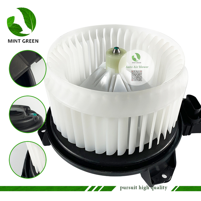 Nieuwe Auto Airconditioner Blower Voor Toyota Yaris Lhd Blower Motor 87103 52140 8710352140