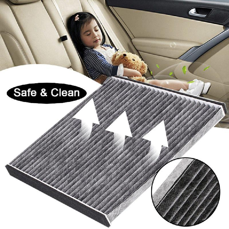 Car Air Conditioning Cabin Filter Cleaner Replacement Carbon Fiber For Toyota PRIUS ECHO CELICA CAMRY Subaru Air Purifier Filter