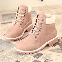 2020 hohe Qualität Marke Winter Frauen Stiefel Schnee Stiefel Frau Schuhe Plus Größe Knöchel Reiten Motorrad Stiefel Damen Casual Schuhe