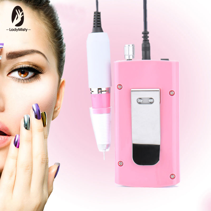 Rechargeable 18W 30000RPM Electric Nail Drill Machine Acrylic Nail File Drill Manicure Pedicure Kit Set Nail Art Equipment