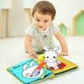 3D детские книги, животные и транспортные средства, детские игрушки Монтессори для малышей, умное развитие