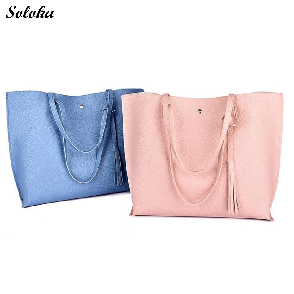 YALUXE Womens Genuine Leather Purse Shoulder Bag Travel Totes Satchel Pocketbook